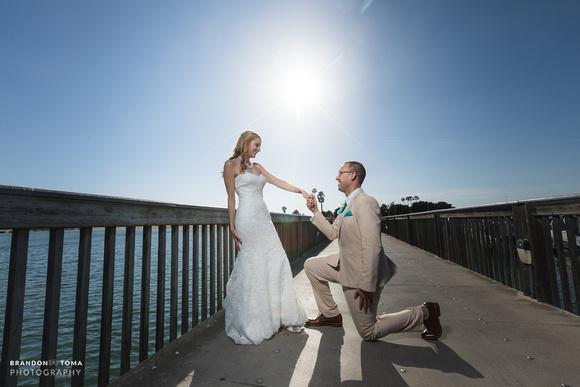 Newport Beach Dunes Wedding Hyatt Regency Photography